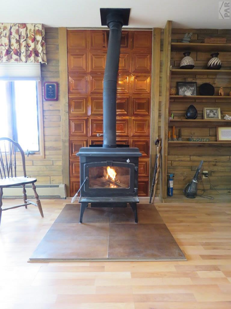 Family Room Wood Stove for additional photo 7